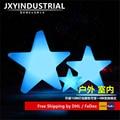 JXYINDUSTRIAL 40CM * 40CM * 10CM LED estrella luz/Led colores cambiables PE plástico estrella lámpara