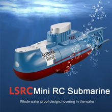 Mini RC Submarine 6 Channels Remote Controlled Boat Radio Control RC Ship Electric Underwater Drone Toys for Children