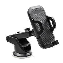 Montaje de teléfono de coche, abrazadera fácil, manos libres, soporte parabrisas para teléfono móvil, Universal, apto para todos los teléfonos