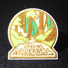Pulaqi Craving Wilderness Space Explorer Patch Iron on Patches DIY Embroidery Appliques UFO Alien Stickers Cartoon Badges F