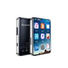 Newsmy A25 bezstratny Bluetooth 5.0 MP3 4GB 8GB odtwarzacz muzyczny Walkman sport przenośny Mini odtwarzacz z ekranem dotykowym MP3 obsługa OTG TF