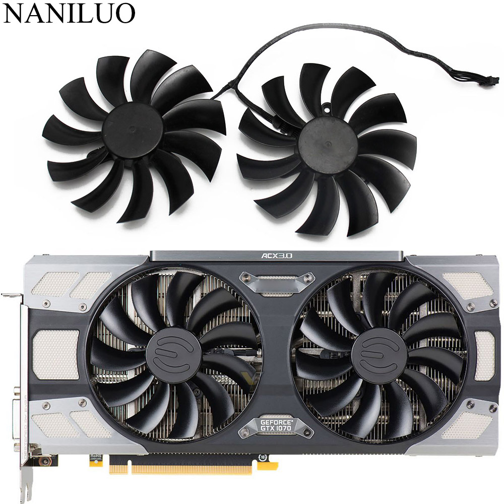 PLD10015B12H 12V 0.55A 95mm GTX1080 1070 TI ACX 3.0 For EVGA GeForce GTX 1080 1070 1070Ti FTW2 GAMING ICX Graphics Card Coolin|square fan|fan ac|ac fan - title=
