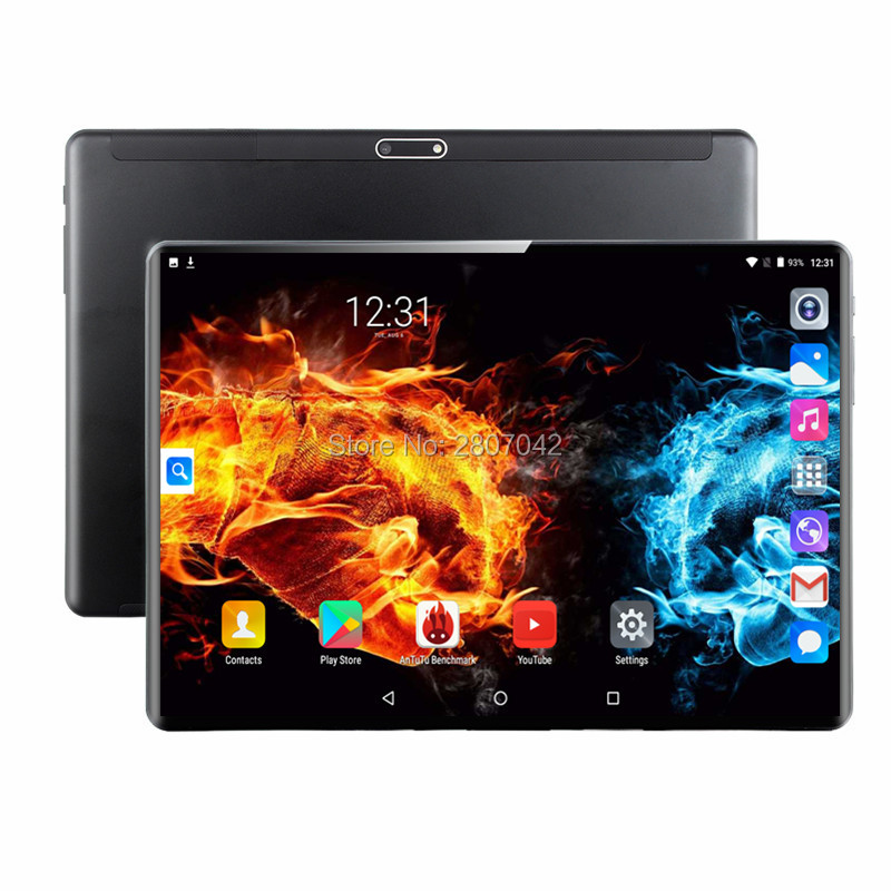 S116 Android 9.0 Tablets 10.1 Inch 3G 4G LTE FDD Phone Tablet PC 8 Core RAM 6GB ROM 64GB IPS Dual SIM Card Tablets Pcs