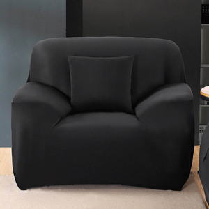 21 Solid Color Sofa Cover 1/2/3/4 Seater Slipcover Couch Sofa Covers Stretch Elastic Cheap Sofa Covers Towel Wrap Covering Home