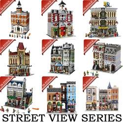 Street View building blocks bricks  15001 15002 15005 15006 15007 15008 15009 15010 15011 15019 15037 15039 10270