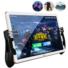 Kontroler PUBG ipad sześć palców Pubg mobilny wyzwalacz Gamepad Grip L1R1 ogień cel przycisk joysticka dla tabletu ipad FPS uchwyt do gier