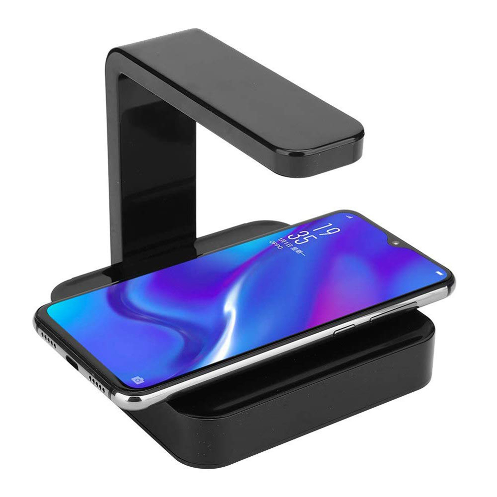 UV Light Disinfector Sanitizer with Phone Wireless Charging Intelligent UV Smartphone Sterilization Wireless Charger for iPhone