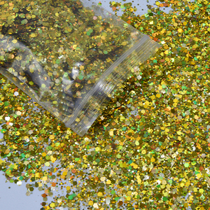Image 3 - 500 g/zak Shiny Glitter Poeder Sparkles Matte Nail Pailletten Pailetten Nail Art Decoraties Nail Vlokken Manicure Glitter FT43New