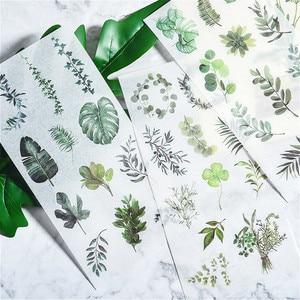 3pcs/set NEW Cartoon Flowers Leaves Sticker DIY Diary Decor Stickers Scrapbook Cute Stationery Supplies