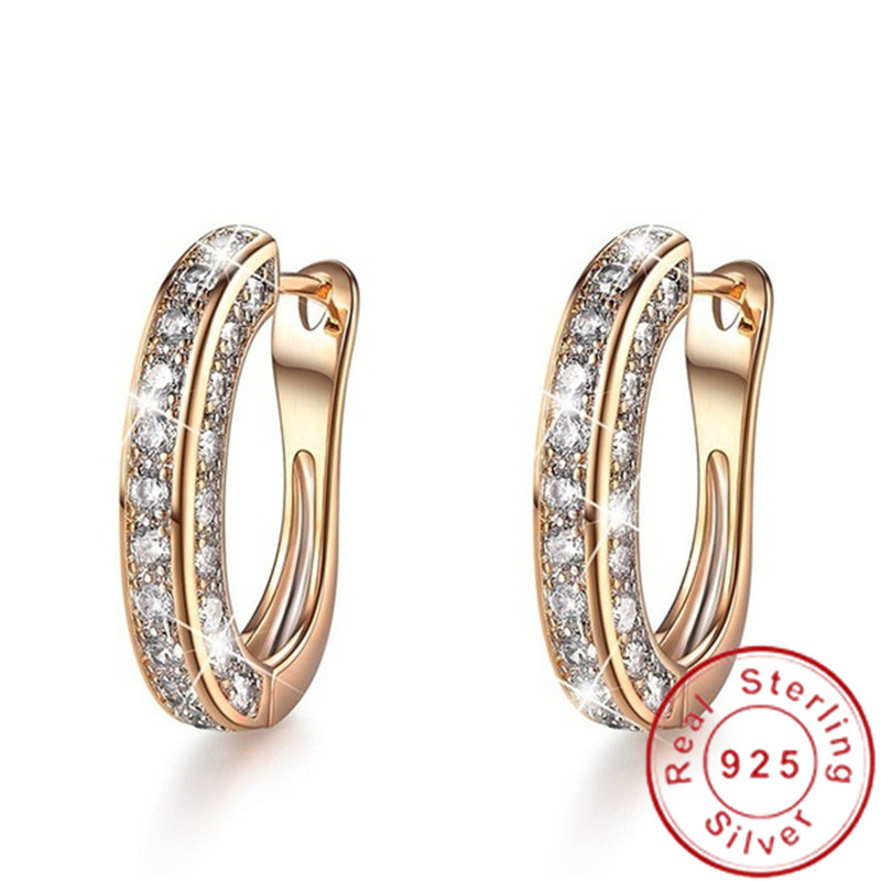 Mode femme goutte Earrring AAAAA cz 925 en argent sterling breloque déclaration fête mariage balancent boucles d'oreilles pour les femmes bijoux de mariée