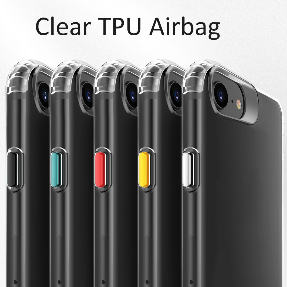 Airbag Transparent Clear TPU Case For Iphone SE 2020
