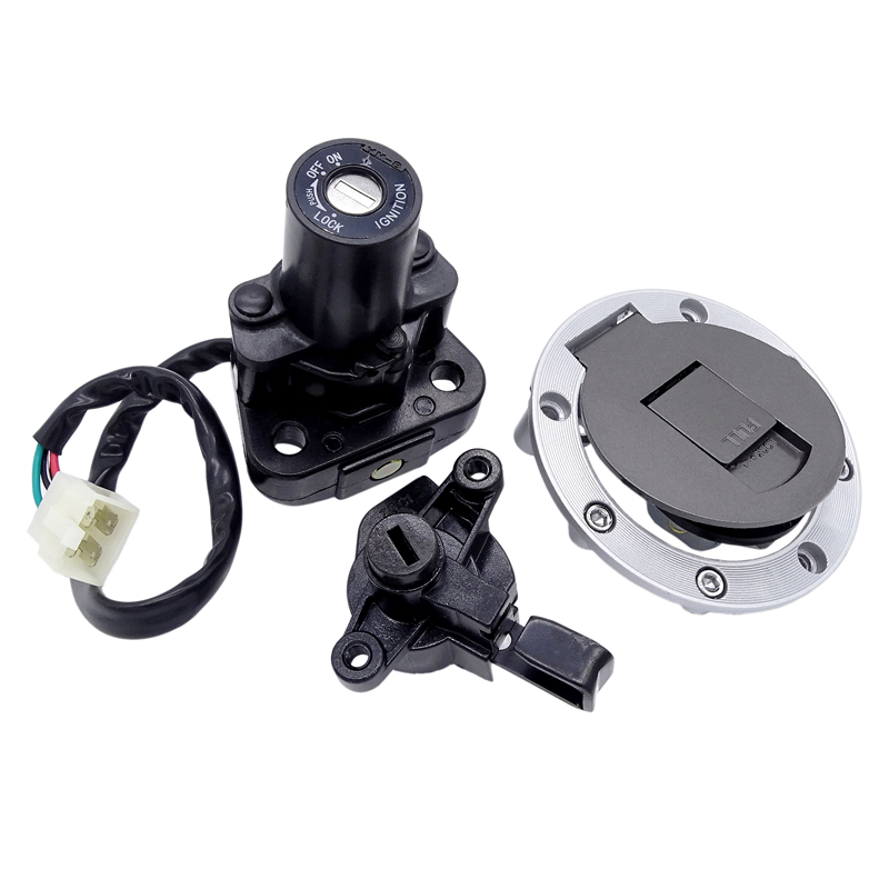 1 Set Motorcycle Ignition Key Switch Seat Lock Fuel Tank Gas Cap Cover For Suzuki GS500 RGV250 GSF1200 Bandit TL1000R GSXR1000