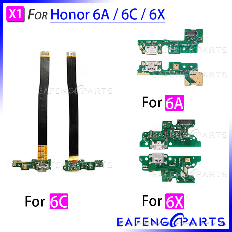 6A Power Charger Dock USB For HuaWei Honor 6C Charging Port Plug Board Flex Cable For 6X