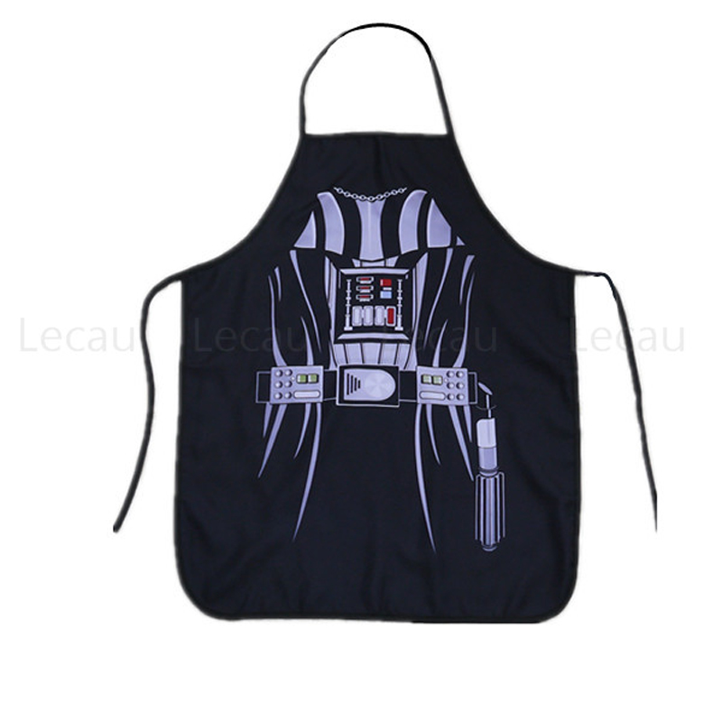 For Star War Fans Cosplay Darth Apron Vader Party Props Cooking House Costume Force Character Real Action Figure Yoda Toys Gifts