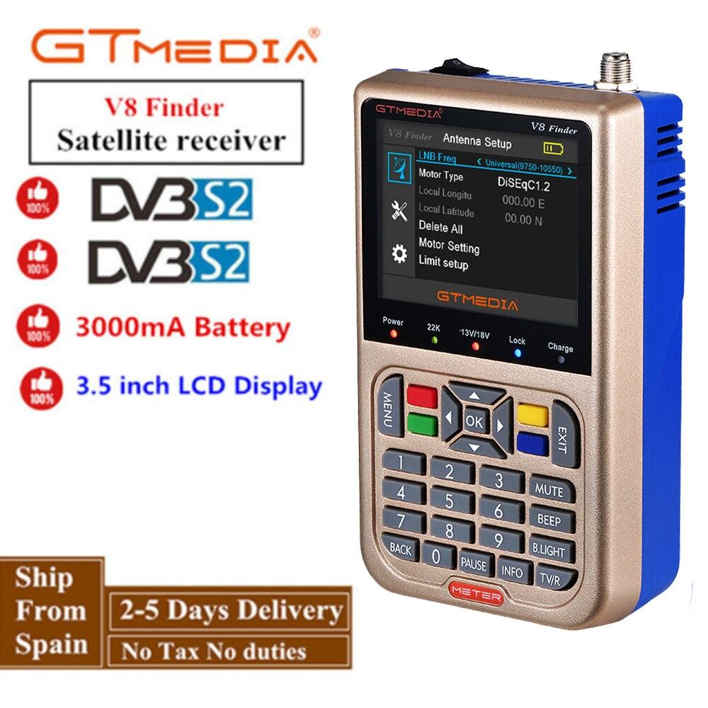 Satellite Finder GTMedia/Freesat V8 Finder Meter HD DVB-S2 Digital Satfinder High Definition Sat Finder MPEG-4 DVB S2 Full 1080P