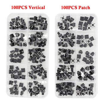 100 sztuk przełączniki taktowe 4-legged vertical patch 6*6*4 1 4 3 5 6 6 5 7 5 8 9 3 10 5 12MM Micro Push Button przełącznik na klucz tanie i dobre opinie YUEQINGLIAOWANG Miedzi 6*6 series
