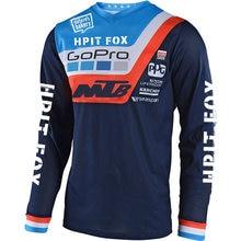 Maillot de descente pour moto, équipe de vélo de montagne, vtt, tout-terrain, DH MX, locomotive, cross country, 2020
