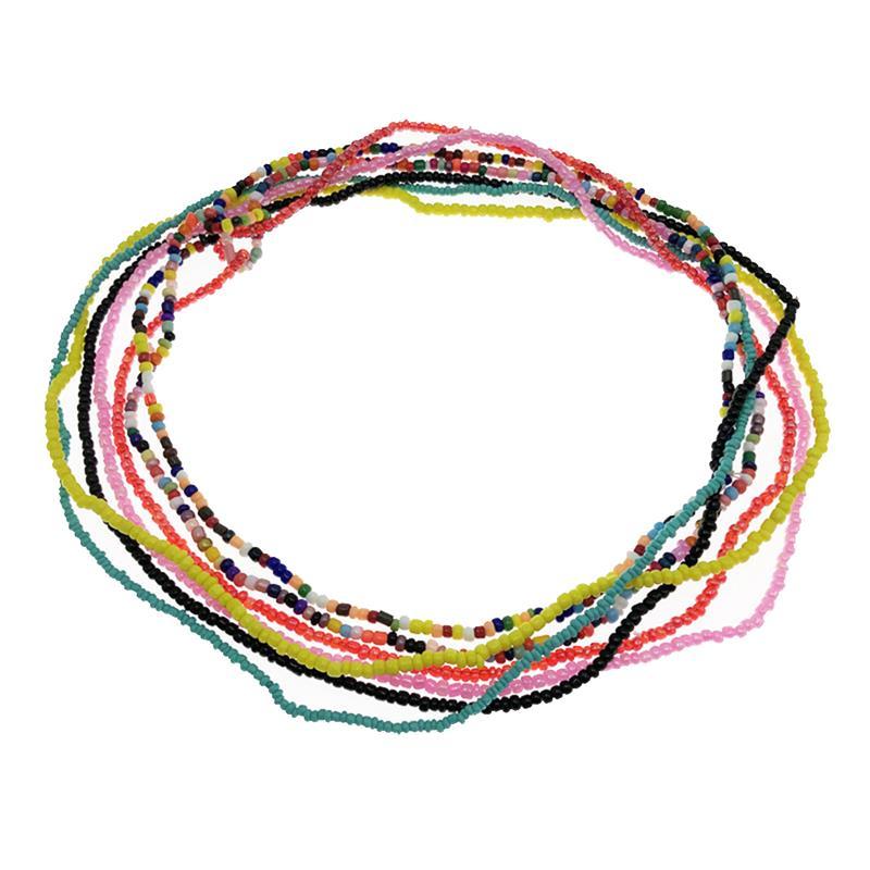 10 шт. новые модные женские бусины для талии, ювелирные изделия для тела, бусины для живота, цепочка для талии, африканская цепочка для тела