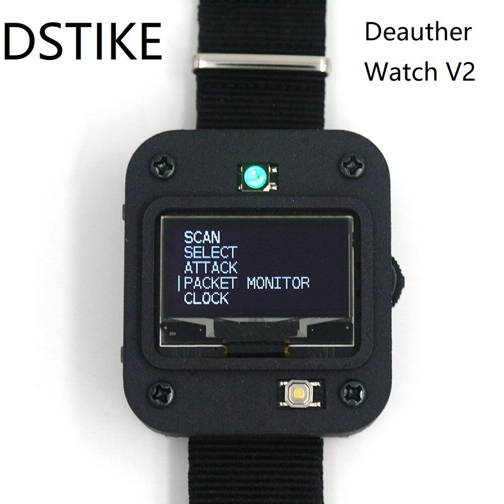 DSTIKE Deauther Watch V2 ESP8266 carte de développement Programmable | montre intelligente | Arduino | NodeMCU |