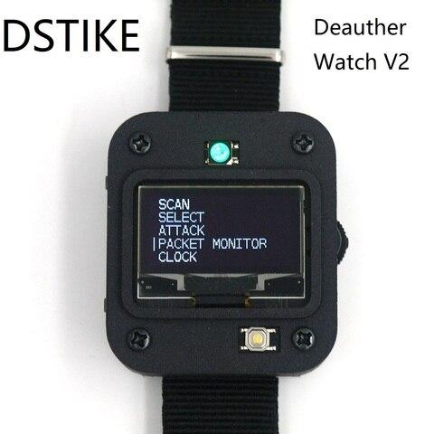 Placa de Desenvolvimento Dstike Deauther Relógio Programável   Inteligente Arduino Nodemcu v2 Esp8266