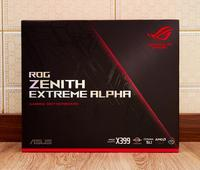 Asus rog zenith extreme alpha x399/tr4 ddr4 128 gb pci-e 3.0 usb3.1 m.2 dimm.2 raid E-ATX placa-mãe novo original