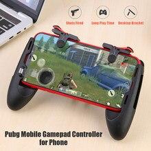 Para teléfono L1R1 agarre gatillo Gamepads máquina electrónica accesorio controlador de juego para iPhone teléfono Android para Pubg controlador