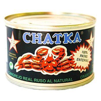 Chatka - Cangrejo real ruso - 100% patas enteras - 185 g (121g)