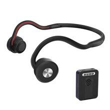 Conduzione ossea cuffie senza fili Bluetooth apparecchi acustici cuffie sportive portatili mini amplificatore apparecchi acustici per TV anziani