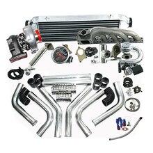 Завершенные комплекты турбо подходят для BM* W 323IS 325IS 328IS E36 E46 M50 T04E T3/T4C Turbo Kit