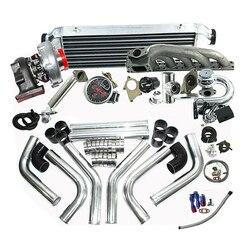 Abgeschlossen Turbo Kits fit für BM * W 323IS 325IS 328IS E36 E46 M50 T04E T3/T4C Turbo Kit