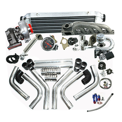 Completato Kit Turbo fit per BM * W 323IS 325IS 328IS E36 E46 M50 T04E T3/T4C Turbo Kit