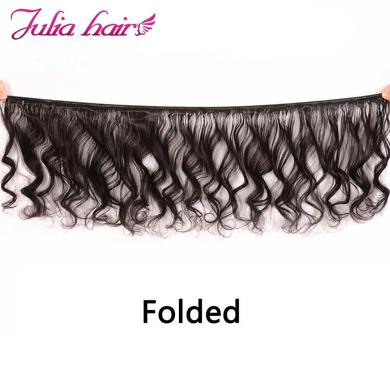 Paquetes de pelo humano de onda suelta brasileña pelo negro Natural tejido de 16 a 26 pulgadas extensión de cabello Remy 1pc 3 piezas, 4 piezas