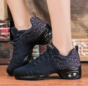 Image 4 - Thời Trang Mùa Xuân 2020 Dance Thường Không Lưới Giày Chaussure Femme Thể Thao Phẳng Nền Tảng Cho Nữ Zapatos Mujer