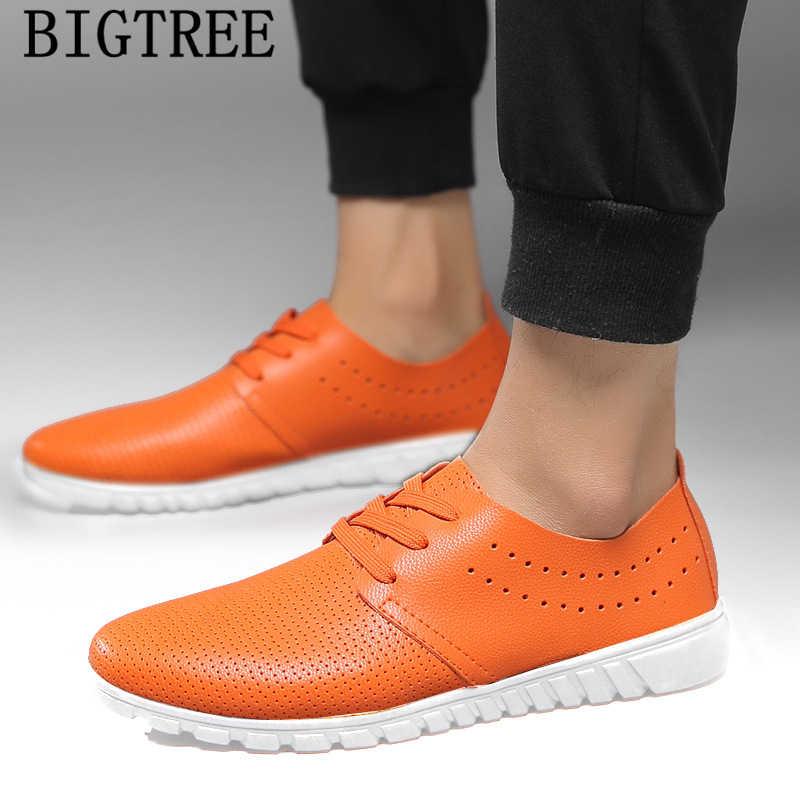 Zapatos de cuero para hombre, zapatillas negras, zapatos casuales para hombre, zapatos de diseñador, zapatos de moda de alta calidad