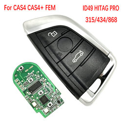 Datong na całym świecie kluczyk samochodowy z pilotem dla BMW 1 3 5 6 7 serii X5 X6 X7 2011-2017 CAS4 CAS4 + FEM F System 868Mhz PCF7953 Promixity centralny zamek
