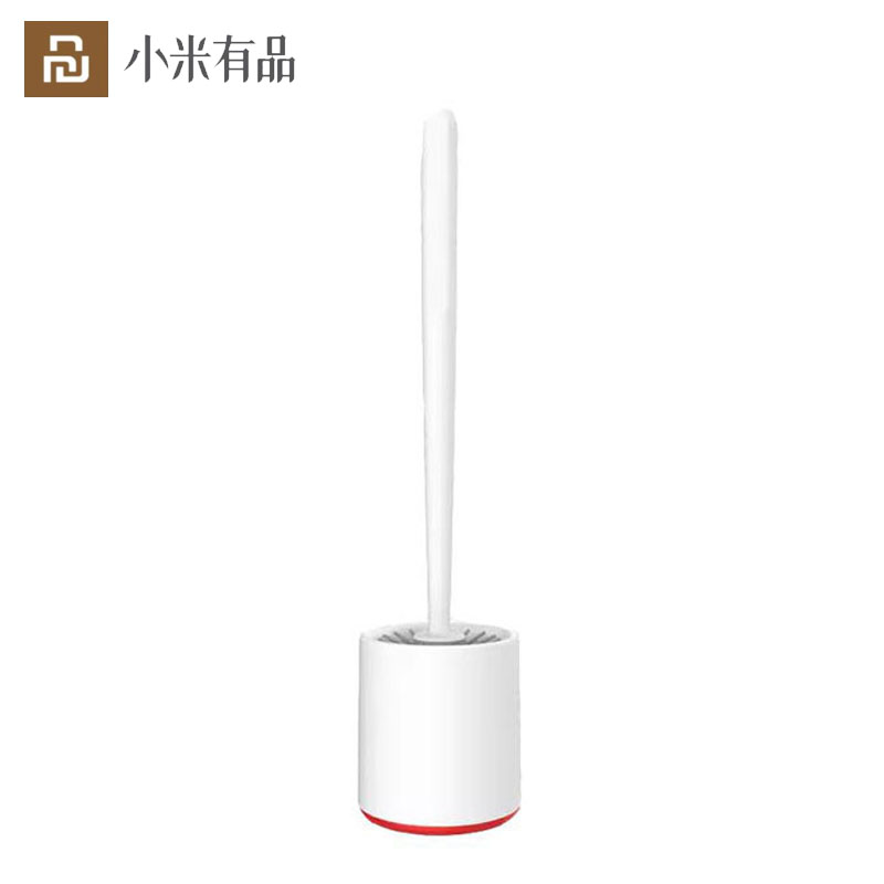 New Xiaomi Toilet Brush Rubber Head Holder Cleaning Brush For Toilet Wall Hanging Household Floor Cleaning Bathroom|Screen Cleaners| - AliExpress