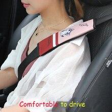 Cute plush dog safety belt insurance shoulder cover long men and women cute cartoon toys