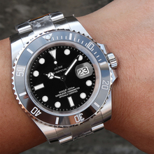 Full Steel Men's Watch 30m Waterproof Brand Date Clock Male