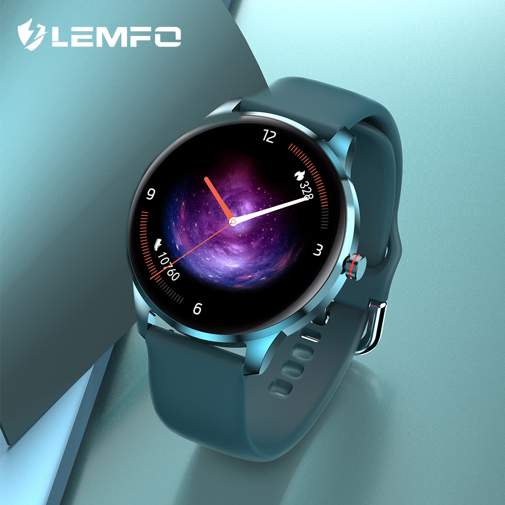 LEMFO LF29 Smart Uhr Männer IP68 Wasserdichte Aluminium Legierung Fall DIY Dual Extra Strap 10 Sport Modi Uhren 2021 für android IOS