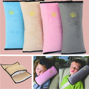 Car Pillows Auto Safety Seat Belt Shoulder Pad Cover for Hyundai IX35 IX45 Sonata Verna Solaris Elantra Tucson Mistra IX25 I30 image