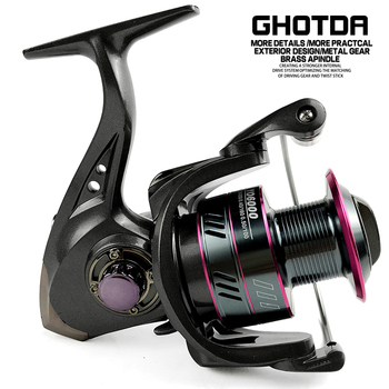 Ghotda DC/Yo Fishing Reel Interchanged Left/Right Handle