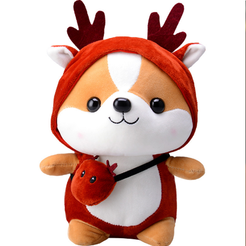 25CM Newest Plush&Stuffed Sweet Squirrel Cute Animals For Kids Toys  Doll For Girls Birthday Christmas Gift
