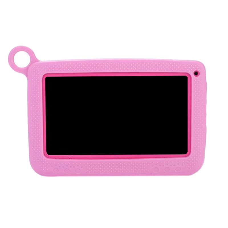 HOT-Portable Tablet Bluetooth+Wifi Kids Learning Tablet Protective Cover 7 Inch 1024 X 600, Eu Plug