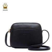 Beibaobao 2019 Hot Crossbody sacs décontracté Mini bonbons couleur Messenger sac pour filles rabat Pu cuir sacs à bandoulière