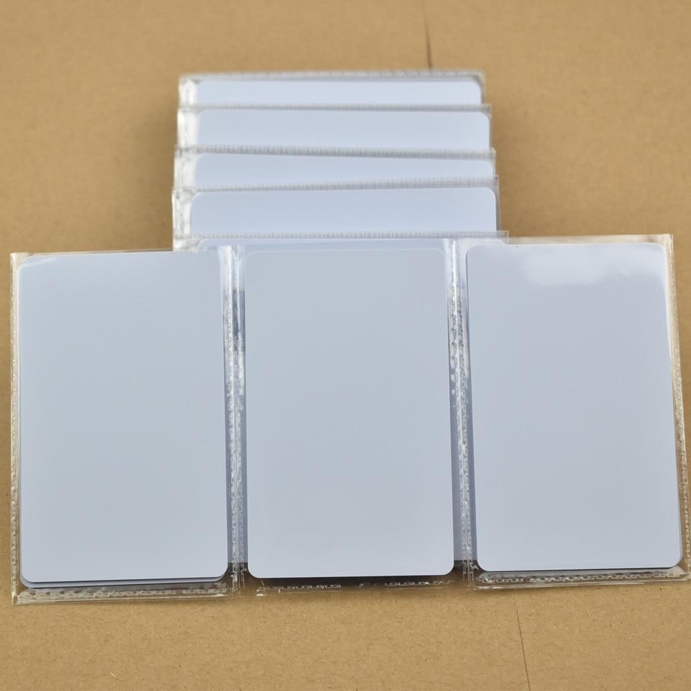 200pcs/lot ATMEL T5577/T5557 Blank Thin Pvc Proximity Card Rewritable RFID 125KHz