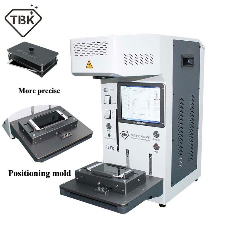 Automatique TBK958A bricolage imprimante CNC Laser Machine de gravure LCD Laser réparation Machine pour iPhone 11 X XS XSMax 8 8 + couverture arrière séparateur