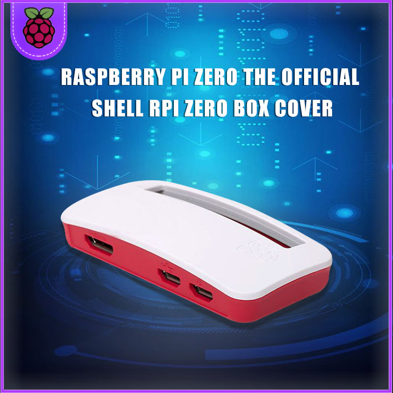 New Raspberry Pi Zero W Official Case RPI Zero Box Cover Shell Enclosure Cases Compatible For Raspberry Pi Zero V 1.3 Pi0