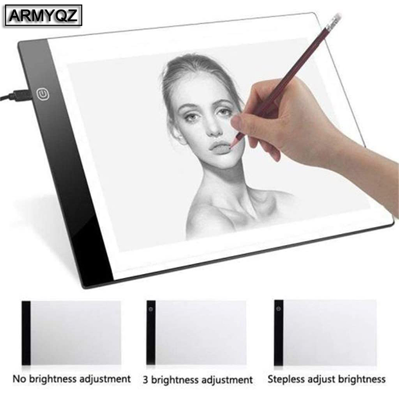 Diamond Painting A3 <font><b>A4</b></font> <font><b>LED</b></font> <font><b>Light</b></font> <font><b>Tablet</b></font> <font><b>Pad</b></font> Accessories Three Level Dimmable Ultrathin for <font><b>LED</b></font> <font><b>Light</b></font> <font><b>Pad</b></font> for Diamond Painting image