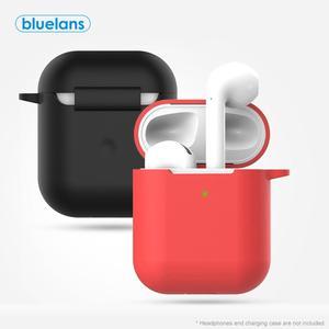 Портативные пыленепроницаемые силиконовые наушники Bluetooth, Защитная сумка для хранения для AirPods 2