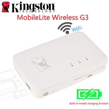 Banco de la energía de la batería G3 5.400 mAh MobileLite de xiaomi wifi inalámbrico multifunción MLWG3 para el almacenamiento de iPhone, iPad, Samsung Galaxy